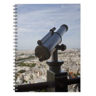 France, Ile-de-France, Paris, Eiffel Tower, Spiral Note Book