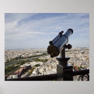 France, Ile-de-France, Paris, Eiffel Tower, Poster