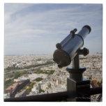France, Ile-de-France, Paris, Eiffel Tower, Tiles
