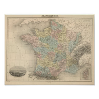 France in 1789 poster