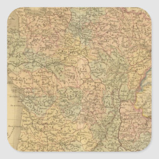 France in 1789 square sticker