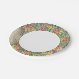 France, in Departments Paper Plate