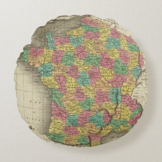 France, in Departments Round Pillow