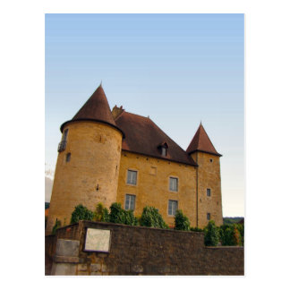 France, Jura, Arbois; Chateau Postcard