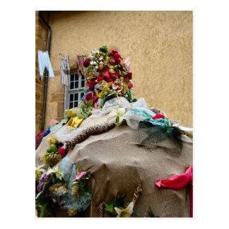 France, Jura, Arbois; Decoration on a fountain 1 Post Card