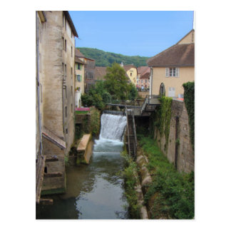 France, Jura, Arbois; Houses by the mill race Post Cards