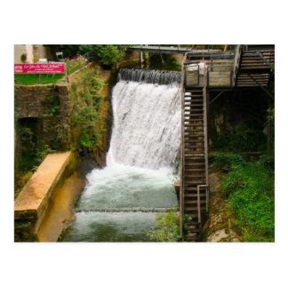 France, Jura, Arbois, Mill race Post Card