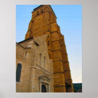 France, Jura, Arbois,Parish Church Print