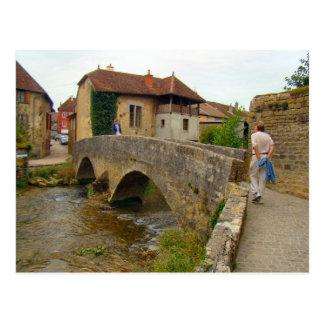 France, Jura, Arbois,tBridge over the river Post Cards