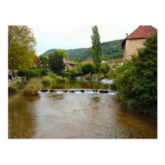 France, Jura, Arbois, the river Postcards