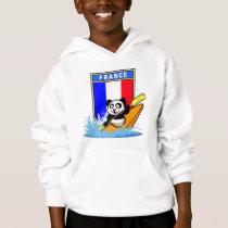 France Kayaking Panda Hoodie
