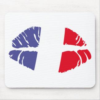 france kiss mousepads