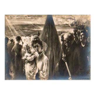 France La Greve, Delanee, 1908 Postcard