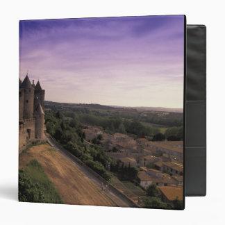 FRANCE, Languedoc Carcassonne 2 Binder