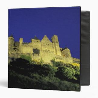 FRANCE, Languedoc Carcassonne 3 Ring Binder