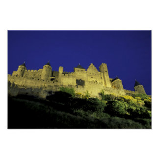 FRANCE, Languedoc Carcassonne Poster