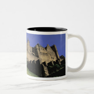 FRANCE, Languedoc Carcassonne Two-Tone Coffee Mug