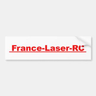 France Laser RC Classic rouge Autocollant Pour Voiture
