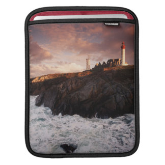 France, lighthouse at dawn sleeve for iPads