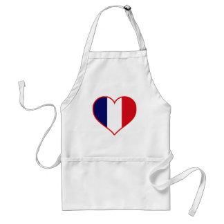 France Love Adult Apron