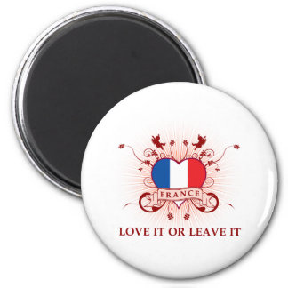 France Love It Or Leave It Magnet