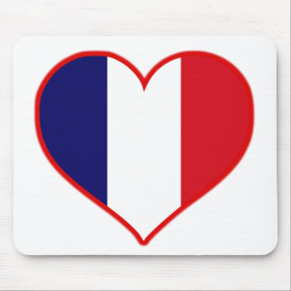 France Love Mouse Pad