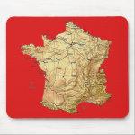 France Map Mousepad