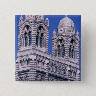 France, Marseille, Provence. Cathedral de la Pinback Button