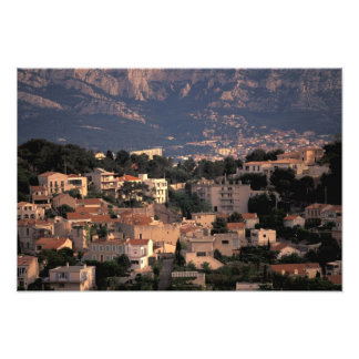 France, Marseille, Provence. Southern suburbs Art Photo