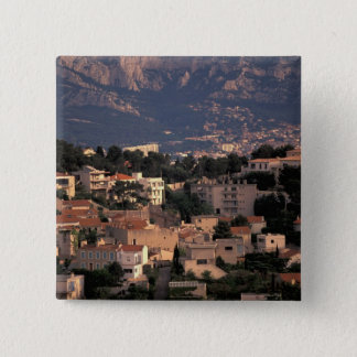France, Marseille, Provence. Southern suburbs Pinback Button