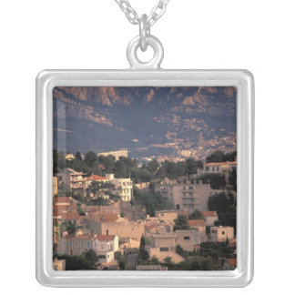 France, Marseille, Provence. Southern suburbs Silver Plated Necklace