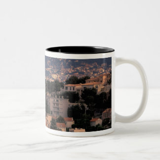 France, Marseille, Provence. Southern suburbs Two-Tone Coffee Mug