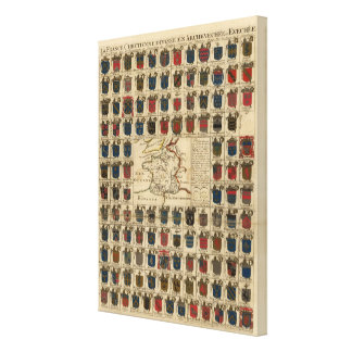 France Military Gallery Wrapped Canvas