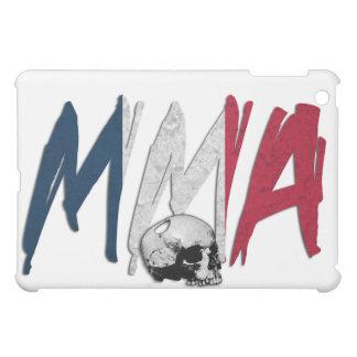 France MMA Skull White iPad Case