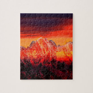 France Mont Blanc Cable Car Jigsaw Puzzles