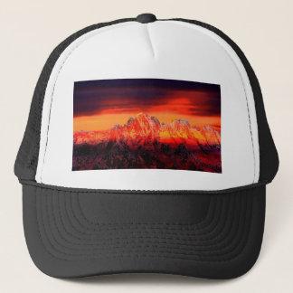 France Mont Blanc Cable Car Trucker Hat
