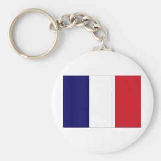 France National Flag Keychain