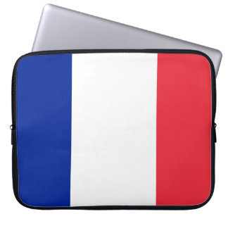 France National World Flag Computer Sleeve