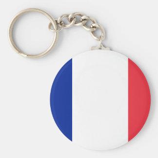 France National World Flag Keychain