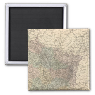 France NE 2 Inch Square Magnet
