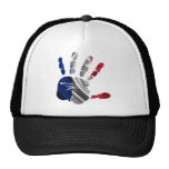 FRANCE NICE HAND FLAG PRODUCTS MESH HATS