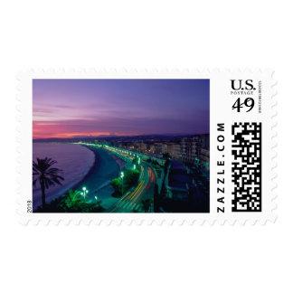 France, Nice. Postage Stamp