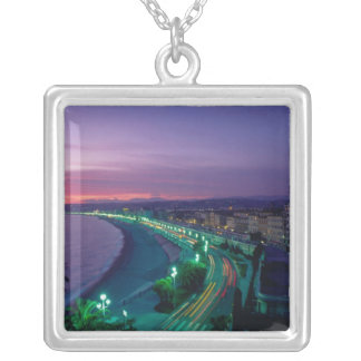 France, Nice. Silver Plated Necklace