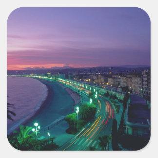 France, Nice. Square Sticker