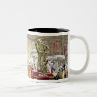 France No. 3, from 'Dickinson's Comprehensive Pict Two-Tone Coffee Mug
