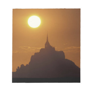 France, Normandy. Mont Saint Michele Notepad