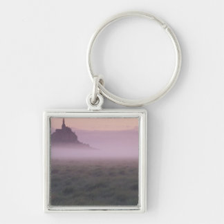 FRANCE Normandy Mont St Michel Morning Mist Keychains