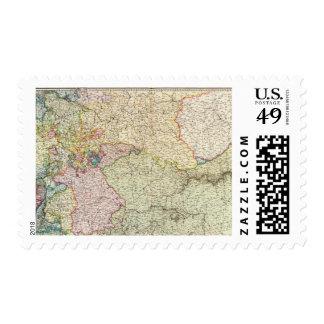 France Northeast Stamp