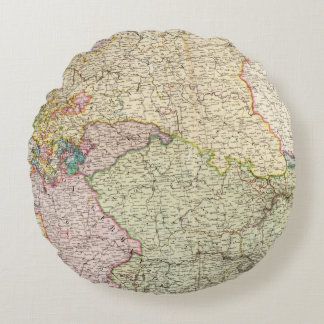 France Northeast Round Pillow