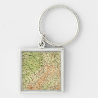 France northeastern section, environs of Paris Keychain
